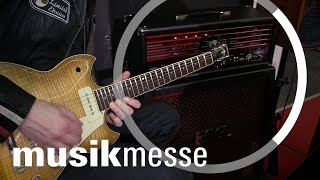 Musikmesse 2017: Engl E766 Marty Friedman Inferno Signature Head mit Dennis Hormes