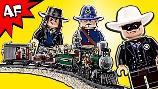 Lego Lone Ranger CONSTITUTION TRAIN Chase 79111 Speed Build