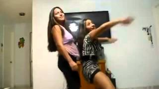 Hot latina girls dancing
