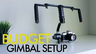CHEAPEST DSLR Gimbal Stabilizer Available