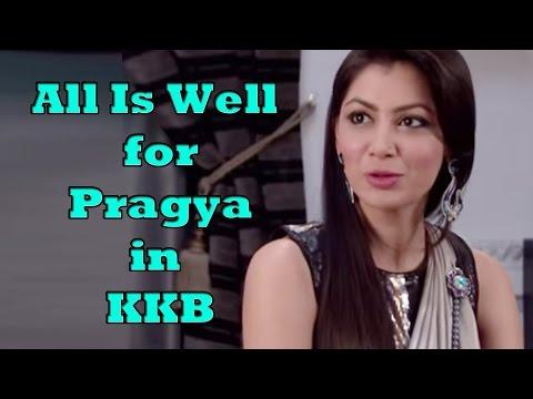 All is well for Pragya in KKB