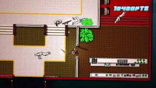 Hotline Miami 2 - Scene 5 - First Trial - A+ Walkthrough (With Combo God Achievement)