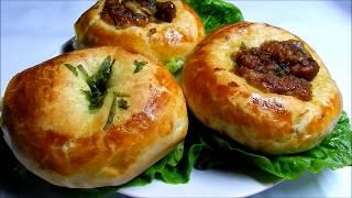Chicken Garlic Butter Buns - Garlic Bread Recipe - Delicious!