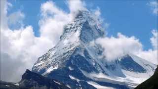 RELAXATION  NATURE CALM MUSIC SCENES HD The Matterhorn Cervin 2014