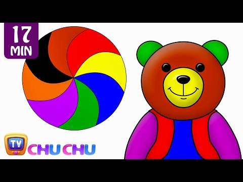Colors Songs Collection Learn Teach Colours to Toddlers ChuChuTV Preschool Kids Nursery Rhymes