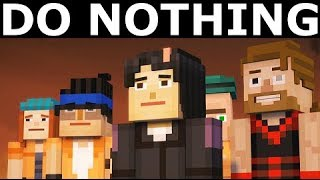Do Nothing In Minecraft: Story Mode Season 2 Episode 3: Jailhouse Block (No Commentary)