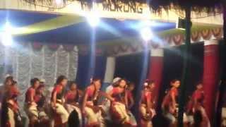 Gumrag dance at Murkongselek Kristi Bhavan, Jonai