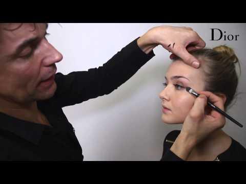 Dior Golden Winter - make-uptutorial