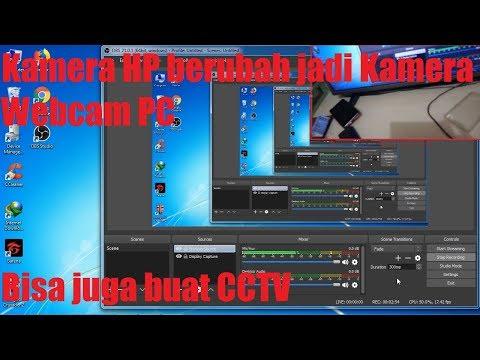 Cara Menghubungkan Kamera HP ke OBS Studio