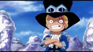 Young Sabo's Training with Monkey D  Dragon One Piece episode   737   1080p