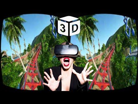 VR Roller Coaster VR VIDEO 3D SBS Horror Scary Ride [Google Cardboard] Oculus Gear VR Box 3D VR HD