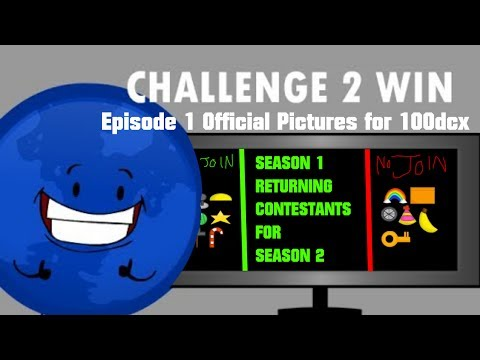 Challenge 2 Win Episode 1 Official Pictures for 100dcx