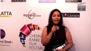 Chennai Rainbow Film Festival 2013 - Fathima Babu
