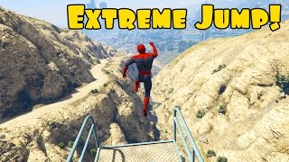 Spiderman and hulk jumping from extreme height. Cartoon for kids with superheroes and 3d animation.