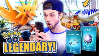 Pokemon GO LEGENDARY RAID Gameplay Trailer! (+ How To Get Them)