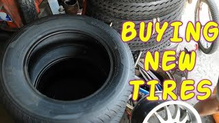Things to Check in Buying New Tires for Mitsubishi Lancer