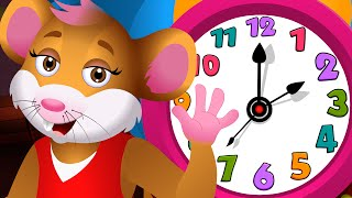 Hickory Dickory Dock Canción Infantil | Canciones Infantiles en Español - ChuChuTV