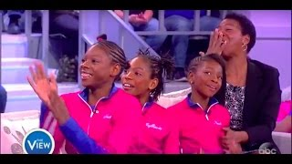 Track Star Family Gets New Home Furnished By Tyler Perry | The View