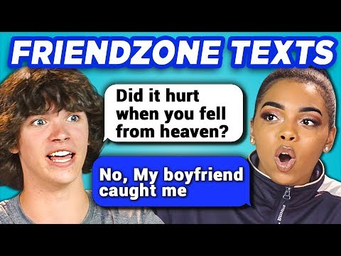 TEENS READ 10 FUNNY FRIEND ZONE TEXTS REACT