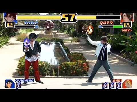 The King of Fighters 99 Real Life