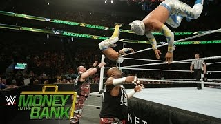 Lucha Dragons vs. The Dudley Boyz: WWE Money in the Bank 2016 Kickoff on WWE Network