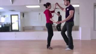 Salsa & Bachata Lesson - Latin Level 2 - Part 2 Bachata @ Nuvitzo Dance