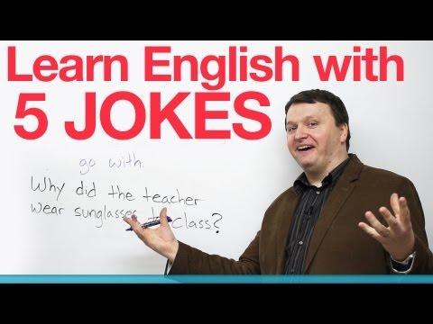 Learn English with 5 Jokes