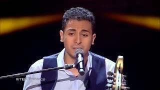 ذا فويس - أسامه حسن - مال القمر ماله - مرحلة الصوت وبس - احلي صوت The Voice