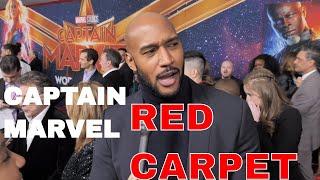 Captain Marvel Red Carpet World Premiere Interviews