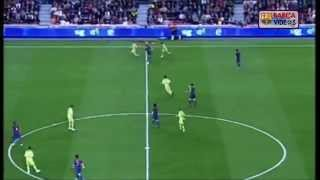 Messi solo goal v getafe - spanish (Catalan) commentator Puyal - (Apr 07)