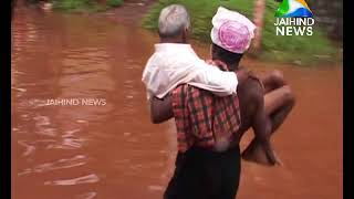 Rain takes a pause; Water logging still on in Calicut & Wayand | 17.08.18 │Jaihind TV