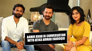 Aamir Khan talks to Atika Ahmad Farooqui on films, son, parents & success