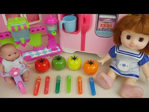 Xxx Mp4 Baby Doll Soda Tomato And Fruit Juice Maker Play Baby Doli 3gp Sex
