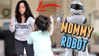 I Convinced my Kids that I was a Robot 🤣- itsjudyslife