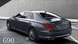 S  Class البديل الأمثل لسيارة مرسيدس   2018 Genesis G90 سيارة