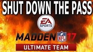 SHUT DOWN THE PASS EASY MADDEN 17 TIPS MADDEN 17 GAMEPLAY