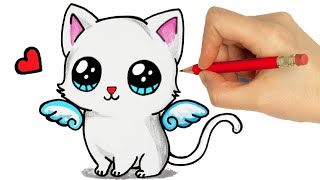 HOW TO DRAW A BABY KITTEN