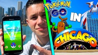 What is Pokemon Go Like in Chicago? (Generation 2)