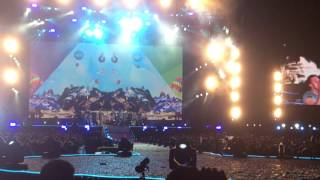 Coldplay Argentina 2016  Colour Spectrum  A Sky Full Of Stars