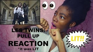Les Twins: Pull Up REACTION