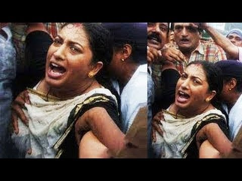 Smriti Irani MOLESTED at A Rally -- BIG NEWS
