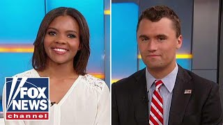 Candace Owens, Charlie Kirk targeted by protesters