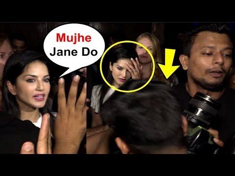 Xxx Mp4 Sunny Leone को आया मीडिया पर गुस्सा जानिए पूरी कहानी 3gp Sex