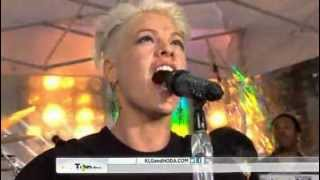 P!nk - Try - Today Show Full Performance