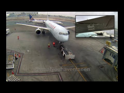 Xxx Mp4 Ground Collision At LAX United Airlines Vs Air Canada 3gp Sex