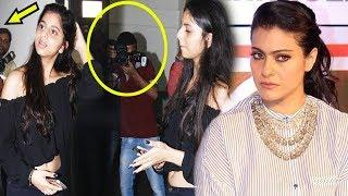 Kajol Lashes Out At Media For Harassing Shah Rukh Khan's Daughter Suhana Khan