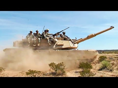 watch US Army in Intense Training Exercise - Combined Arms Live-Fire Exercise (CALFEX)