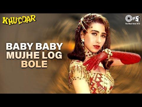 Xxx Mp4 Baby Baby Mujhe Log Bole Khuddar Karisma Kapoor Full Song 3gp Sex