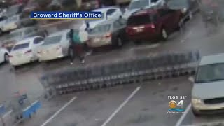 Surveillance Footage Captures Armed Teens Carjacking Elderly Woman