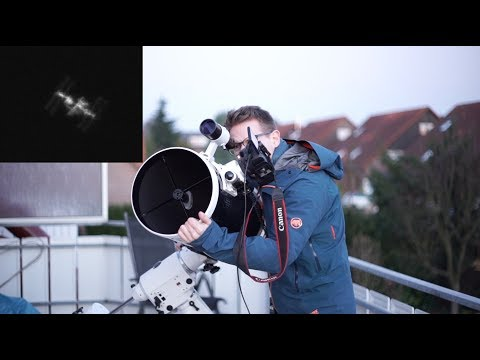 Xxx Mp4 Capturing The ISS International Space Station Through My Telescope 3gp Sex